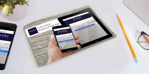 Funke Medical Product Finder App